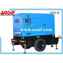 300KW Doosan Trailer Generator