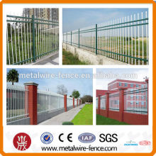 PVC coated Ornamental wrought iron Fence
