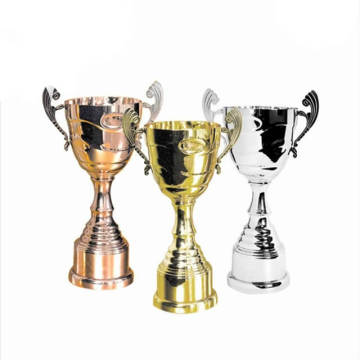 Partihandel Billiga Metal Awards Gold Star Trophy Cup
