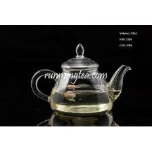 Pot à goutte au borosilicate avec pot en acier inoxydable, 250cc