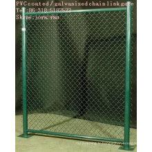 PVC enduit / Galvanisé Porte à mailles losangées