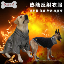 DogLemi New Design Heat Reflective Fleece Dog Jacket Reversible Winter Large Dog Clothes