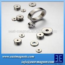 Puissance forte Forme de l'anneau de néodyme Aimant / alimentation industrielle aimant d'anneau de néodyme