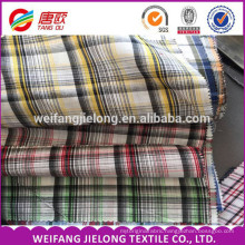 polyester cotton yarn dyed plaid fabric dyed TC fabric 100 cotton yarn dyed woven fabric