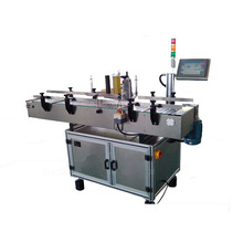 Flat Bottle Self Adhesive Label Automatic Double Side Labeling Machine