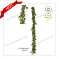7FT PE Plastic Artificial Wreath Christmas Ornament for Home Decoration