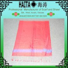 Bufanda de moda encantos con seda