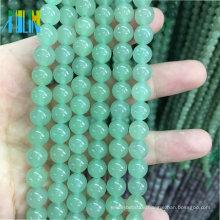 Großhandelsmasse 4-12mm halb kostbare Edelsteine lose Edelstein-Stein-Korn-natürliches grünes Aventurin