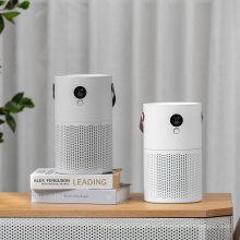 2020 Newest Mini Portable Carbon HEPA Filter Air Purifier Home Room Desktop LED Night Light Air Purifier