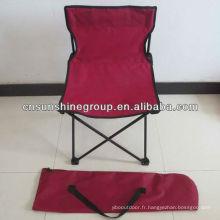 Toile Camping chaises pliantes pas cher w/o porte-gobelet