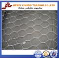 Malla de alambre hexagonal revestida del PVC del alambre 1/4 de pollo