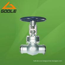 Válvula de compuerta soldada API (GAZ61Y)