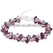 Bracelets à perles violet populaires de 2016