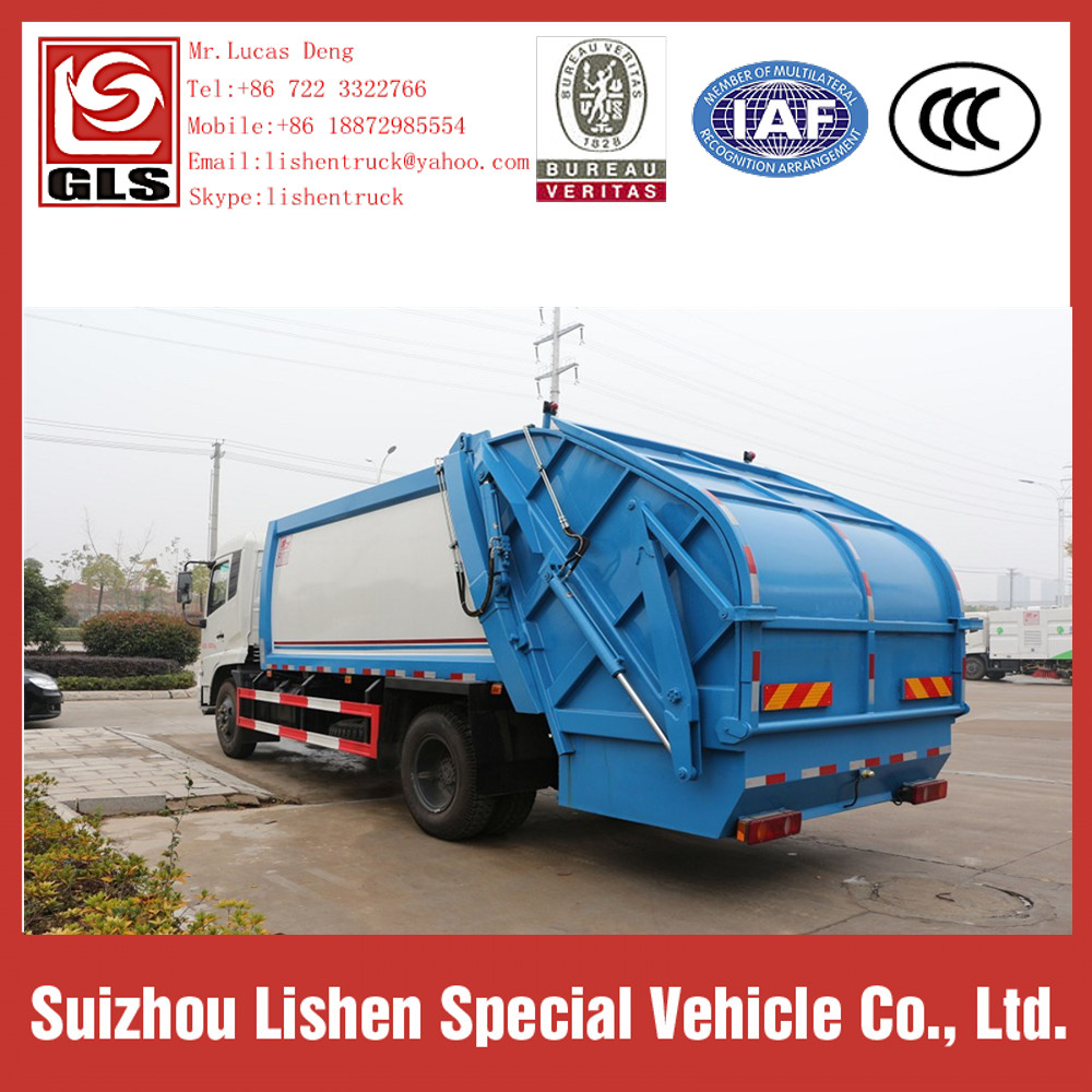 Garbage Truck For Sale Capacity of 12 cbm