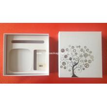 Envase de regalo de gama alta Caja de papel con espuma EVA
