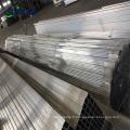 clôtures horizontales de clôture en aluminium