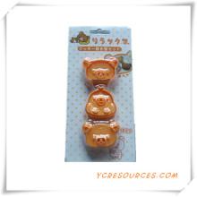 Bolo Venda Quente Diferente Formas De Plástico Cortador De Biscoitos Molde Set 2015 Presente Promocional para Bolinho Molde Rilakkuma (HA13020)