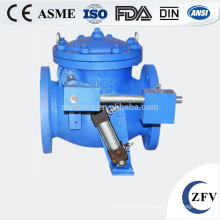 heavy hammer micro resistance hydraulic control slow close horizontal check valve