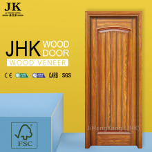 JHK-S05 Natural Red Oak HDF Exterior Door
