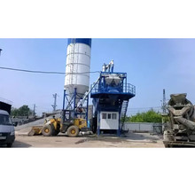Hopper Lift Mini Concrete Batching Plant