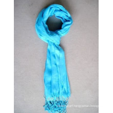 High Quality cheap Viscose Long Solid Color Fashion Scarf women scarf plain with Tassel Professional OEM manufacture