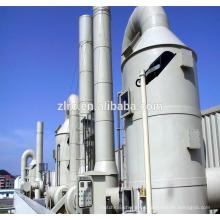 FRP GFK Gas Atomized Venturi Scrubber