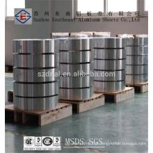 Preços da bobina de alumínio 1050A H14