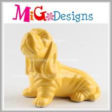 Wholesale Craft Gift Ceramic Exquisite Dog Piggy Bank