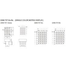 0.7 Inch, 1.9mm DOT (GNM-7571Ax-Bx)