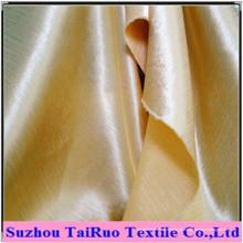 Chiffon de seda de cetim de poliéster para casa-têxteis com impresso