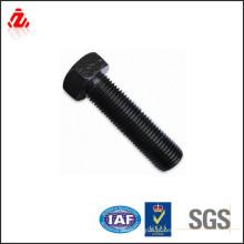 8.8 parafuso de aço carbono de cabeça sextavada