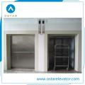 Dumbwaiter 100kg, elevador pequeno da carga da carga para o transporte do alimento