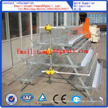 Chicken Layer Battery Cage para Farm