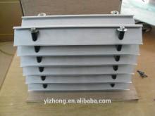 Aluminum water retaining plate