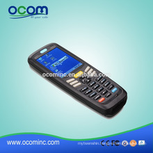 Handheld windows ce mobile barcode scanner with screen (OCBS-D6000)