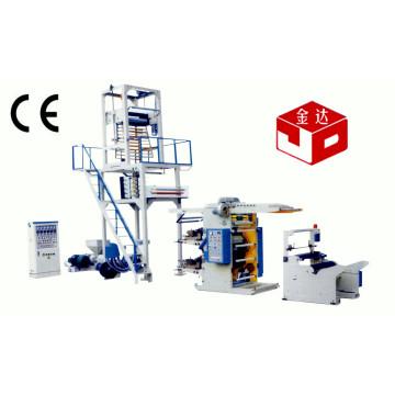 Unidad de impresión flexográfica de la máquina de la máquina soplada de la película Sj50-Yt2600