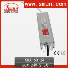 60W 36VDC 1.7A IP67 Waterproof LED Switching Power Supply