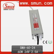 60W 36VDC 1.7A IP67 Waterproof a fonte de alimentação do interruptor do diodo emissor de luz