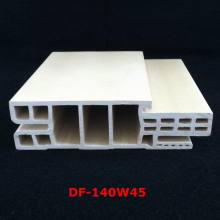 New Arrival Israel Style WPC Door Frame WPC Door Jamb PVC Foamed Door Pocket Df-140W45