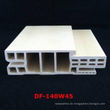 Neue Ankunfts-Israel-Art WPC-Tür-Rahmen-WPC-Tür-Stau PVC-geschäumte Tür-Tasche Df-140W45