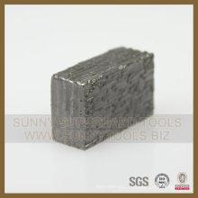 Segment de coupe de segment de meulage de diamant