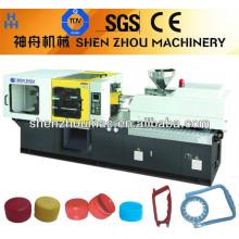 Máquina de moldeo por inyección tapa automática de galones