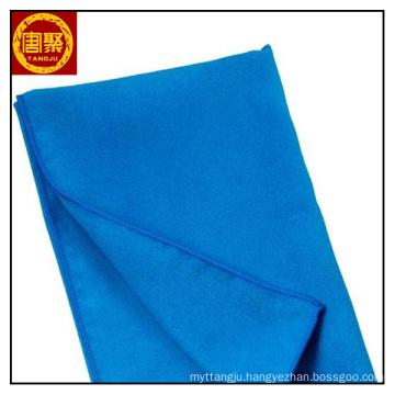 blue 200gsm microfiber blanket