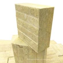 Placa de isolamento de lã de rocha para parede externa