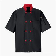 Hotel chef restaurant uniforms black chef uniform