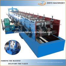 Profissional de Zinco Ferro Metal Steel CU canal Purline Cold formando máquina