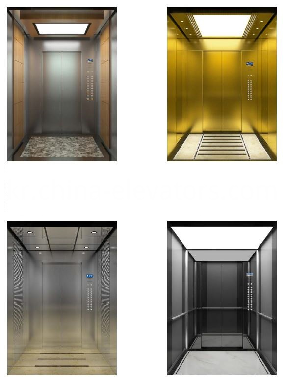 CEP3100 Small Machine Room Residential Elevator