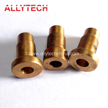 High Precision Brass CNC Lathe Components