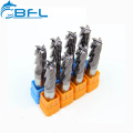 BFL Твердосплавные плоские 14-миллиметровые концевые фрезы D14 * FL45 * 100L * 4F