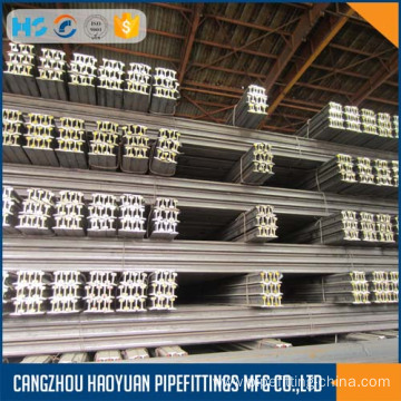 Top for Offering Train Rail, Train Steel Rail, Crane Steel Train Rails And So On 18kg P18 s18 light steel rail 55Q Q235 supply to Iraq Suppliers